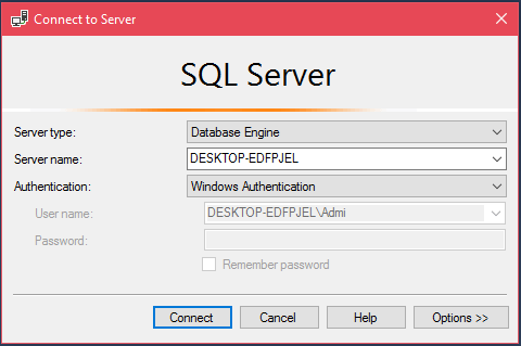 ADO Net SQL Server Connection 1