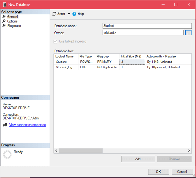 ADO Net SQL Server Connection 4