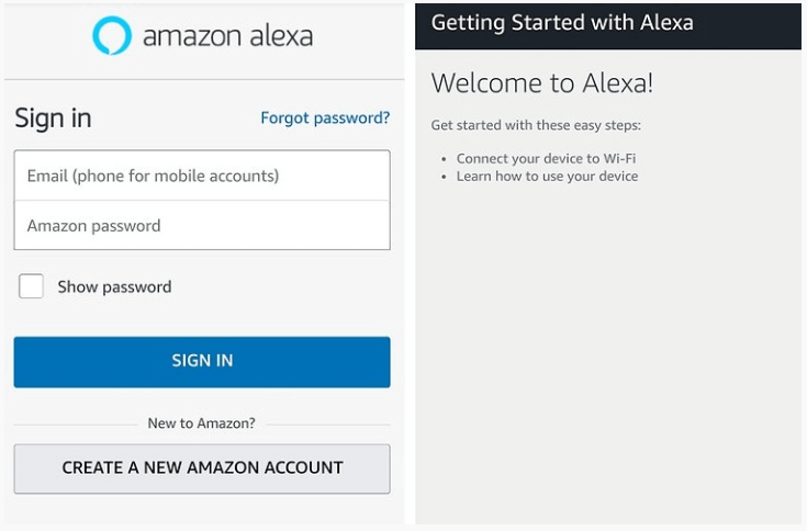 Alexa app for Android