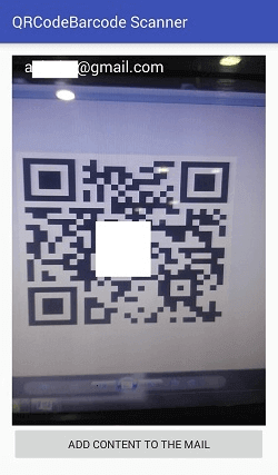 Android QR Code or Bar Code Scanner