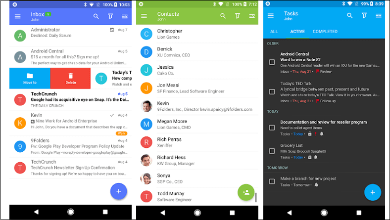 Best email apps for Android