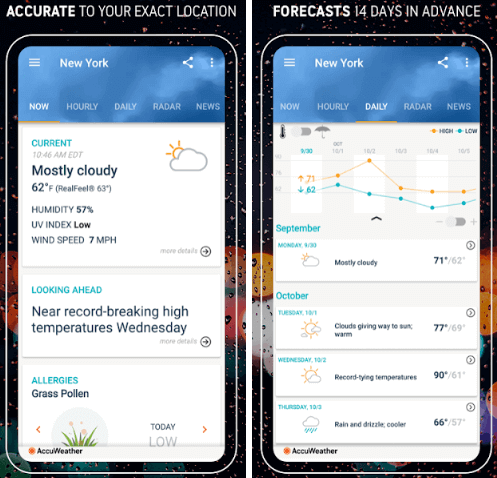 Best weather apps with widgets for Android