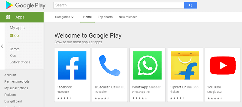 Download Google Play Store App for Android