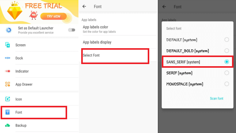 How to Change Font Style in Android Phone