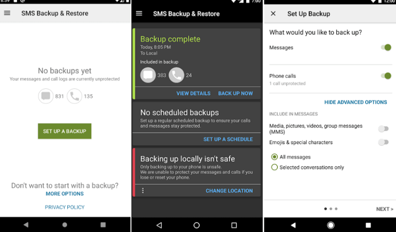 How to Recover Deleted Text Messages and Photos on Android