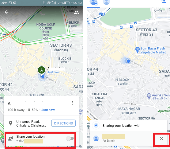 How to Share Location on Android