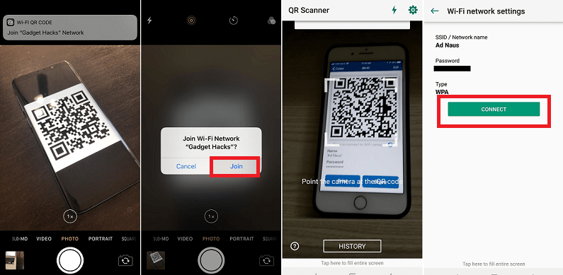 How to Share Wi-Fi Password from iPhone to Android