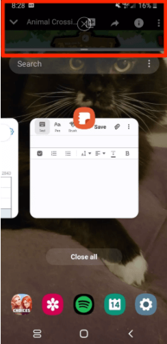How to split screen on Android