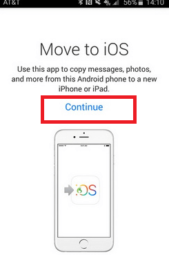 How to transfer messages from Android to iPhone