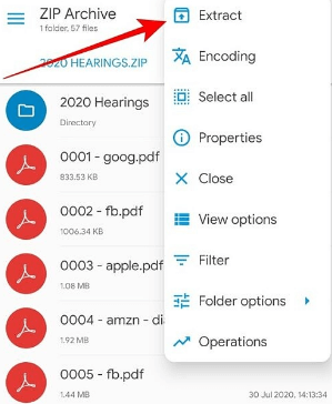 How to Unzip or Extract Files on Android Device