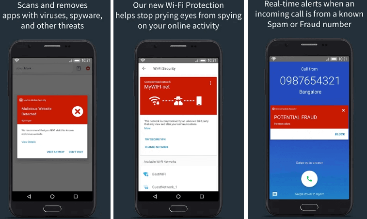 Norton Security and Antivirus for Android