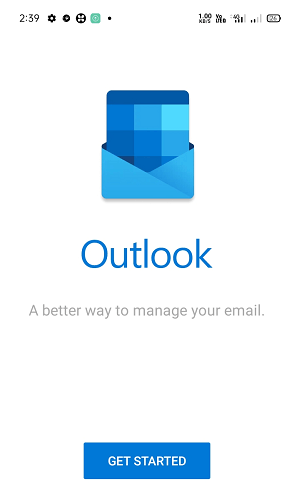 Outlook App for Android Mobile
