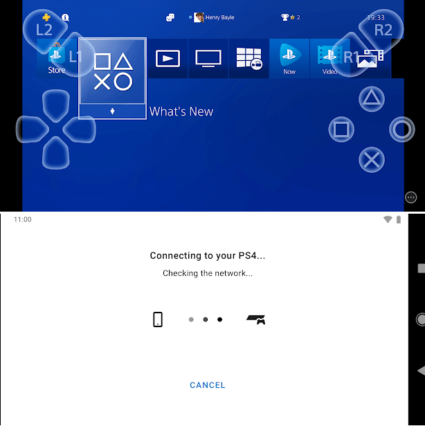 PS4 Remote Play for Android