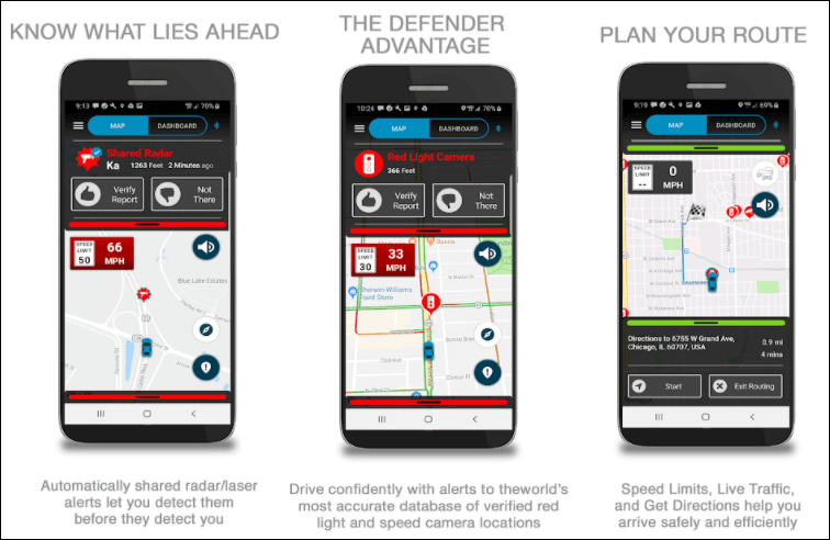 Radar Detector Apps for Android