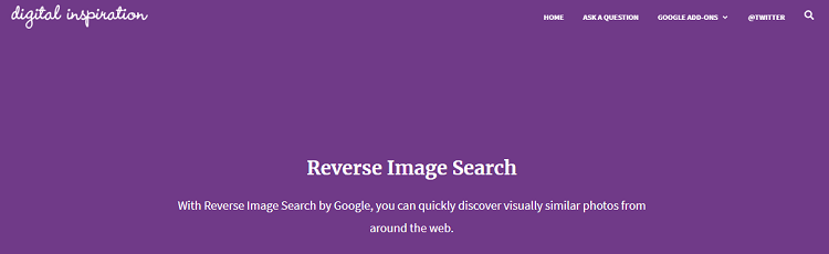 Search by Image: Google Reverse Image Search