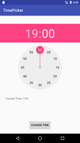 android timepicker example 2
