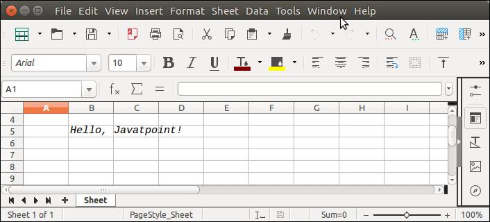 Apache POI Excel Font
