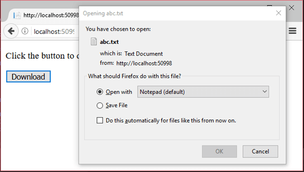 ASP Net Download File - javatpoint