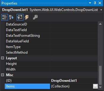 ASP Net Dropdown list 4