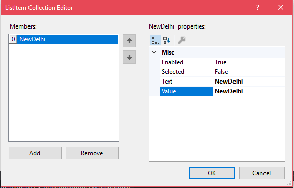 ASP Net Dropdown list 6
