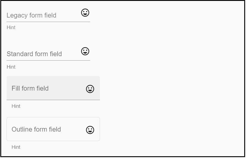 Angular Material (MAT) Form-Field
