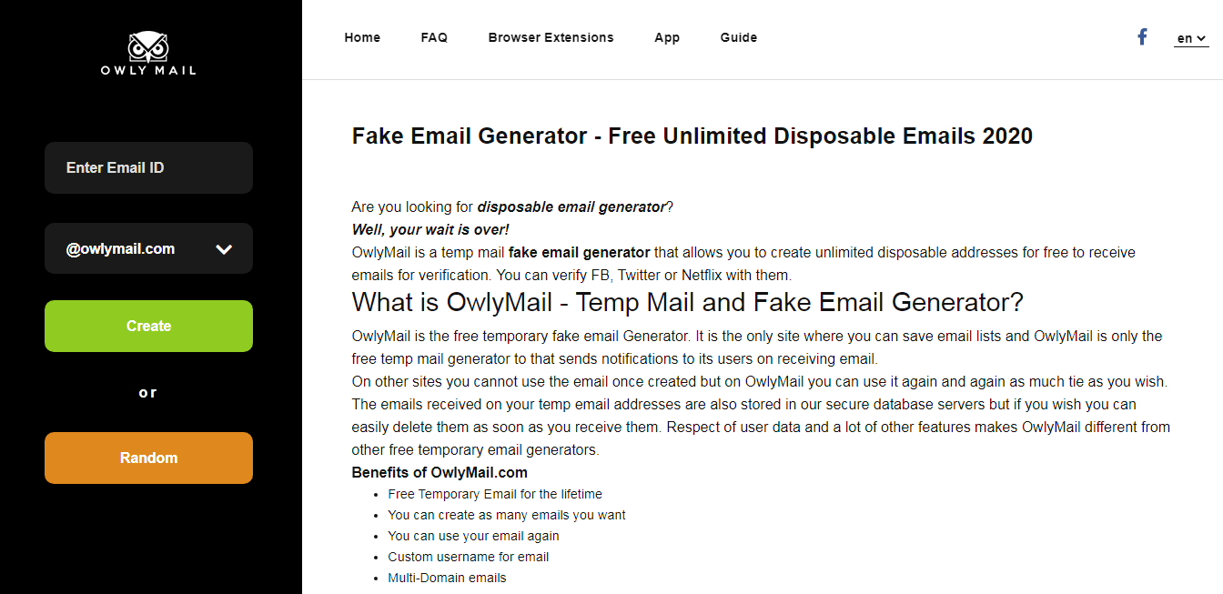 Best Fake Mail Generator Software Javatpoint