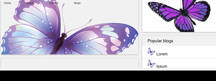 Blog Html Design