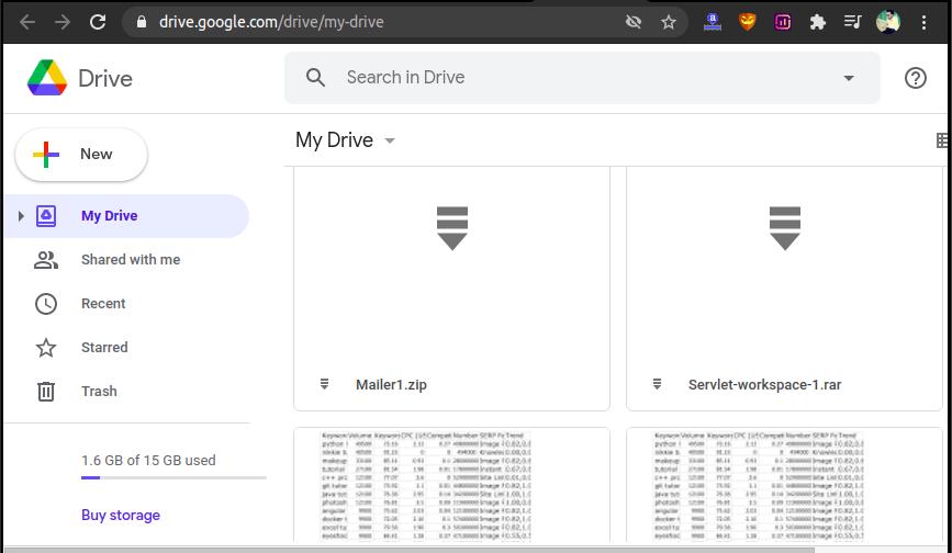 GDrive (Google Drive)