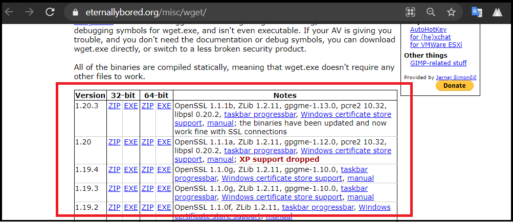 GNU Wget