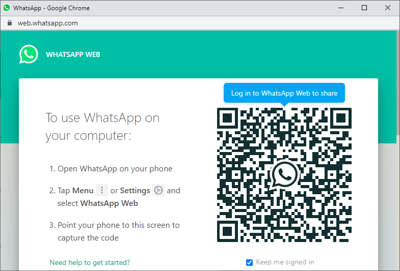 How to add a WhatsApp sharing button to a website