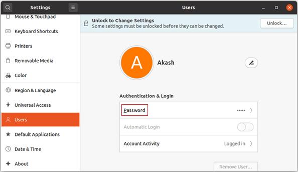 How to Change root user password ubuntu