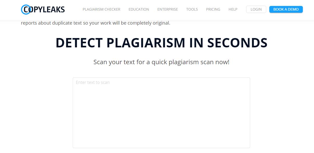Plagiarism Tools