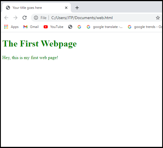 What is a Webpage