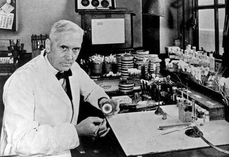 Who invented Penicillin