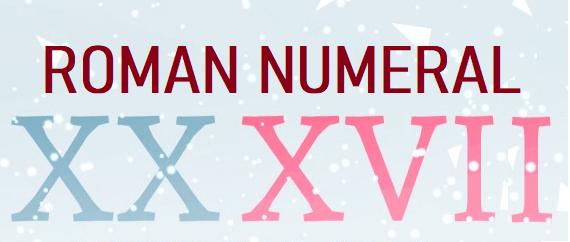 xxxvii roman numeral