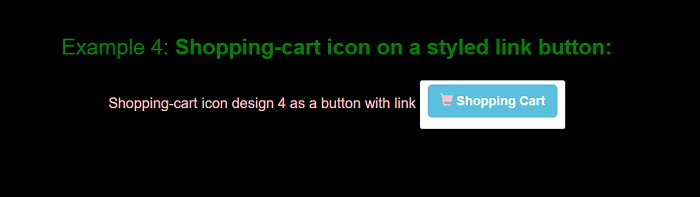 Add to cart button in Bootstrap