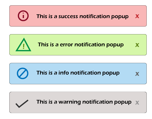 Notification popup box using bootstrap-growl JS plugin in Bootstrap