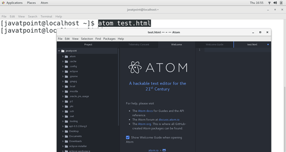 CentOS How to Install Atom on CentOS 3