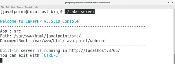 CentOS How to Install CakePHP on CentOS 1
