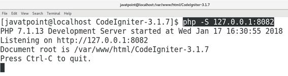 CentOS How to Install CodeIgniter on CentOS 1