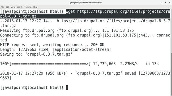 CentOS How to Install Drupal on CentOS