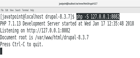 CentOS How to Install Drupal on CentOS 2