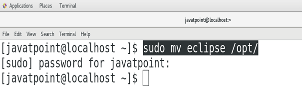 How to Install Eclipse on CentOS - javatpoint