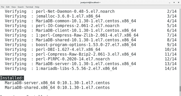 CentOS How to Install MariaDB on CentOS5
