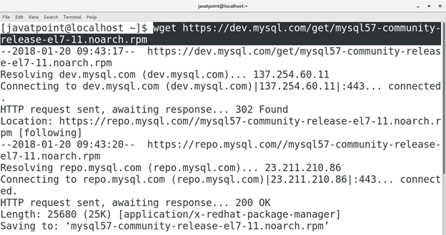 How to Install MySQL on CentOS