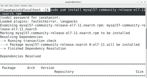 How to Install MySQL on CentOS 1
