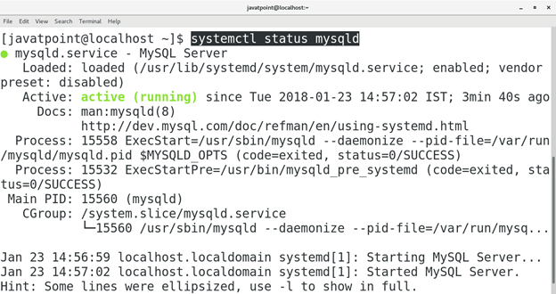 How to Install MySQL on CentOS 3