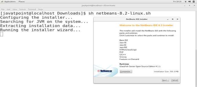 CentOS How to Install NetBeans on CentOS 1