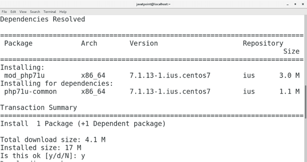 CentOS How to Install PHP on CentOS1