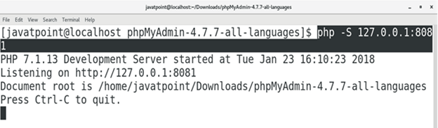 How to Install phpMyAdmin on CentOS 1